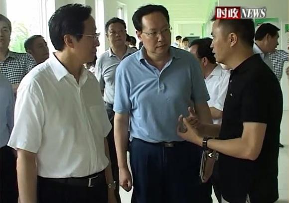 农业部部长韩长赋视察yabox6网站